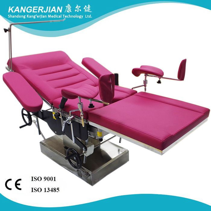 Hospital Electric Portable Gynecological Examination Table