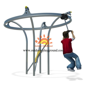 Children's Dynamic Steel Spinner Equipment For Playground