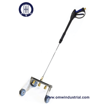 3 Nozzle Water Broom with Edger
