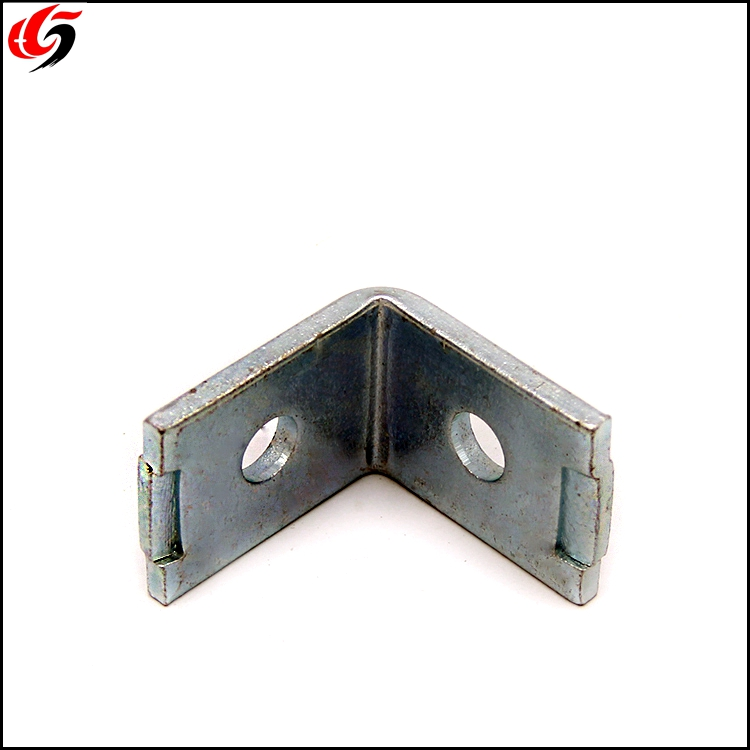 Custom Metal Shelf L Corner Brackets Galvanized Steel angle brackets