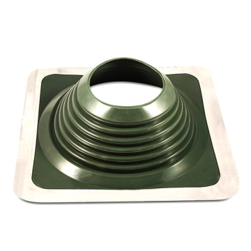 Customized Green Color EPDM/Silicone Rubber Roof Flashing