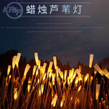 LED Solar Reed Lights