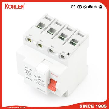 Residual Current Circuit Breaker KNL1-63 3KA CB 4P
