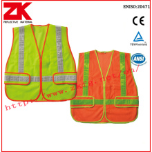 Safety vest with pvc tape