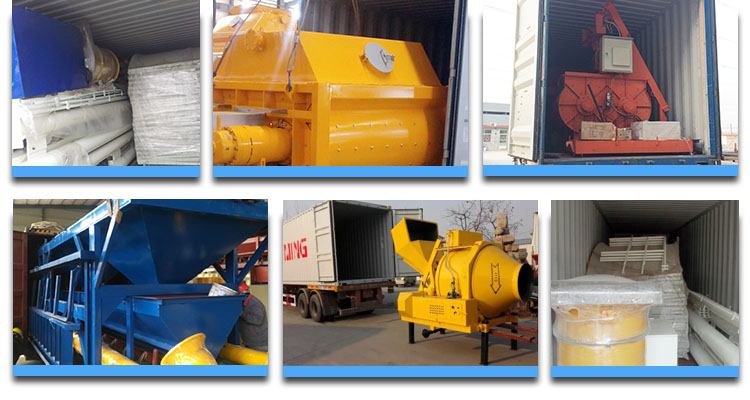 Stationary Concrete Batching Plant packing