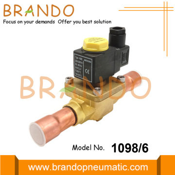 3/4'' 1098/6 Castel Type Solenoid Valve For Refrigeration