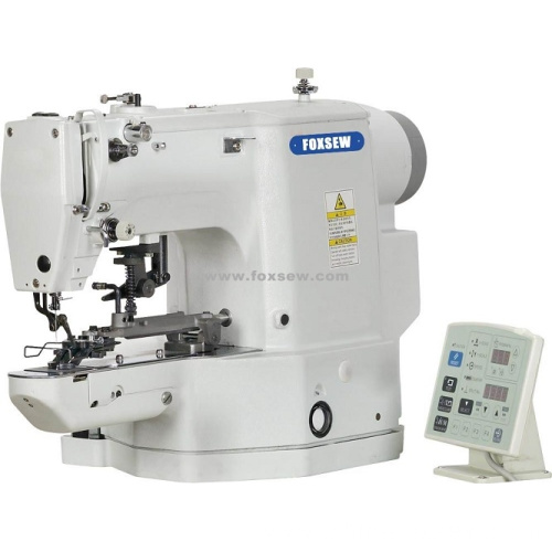 Direct Drive Electronic Button Attaching Machine