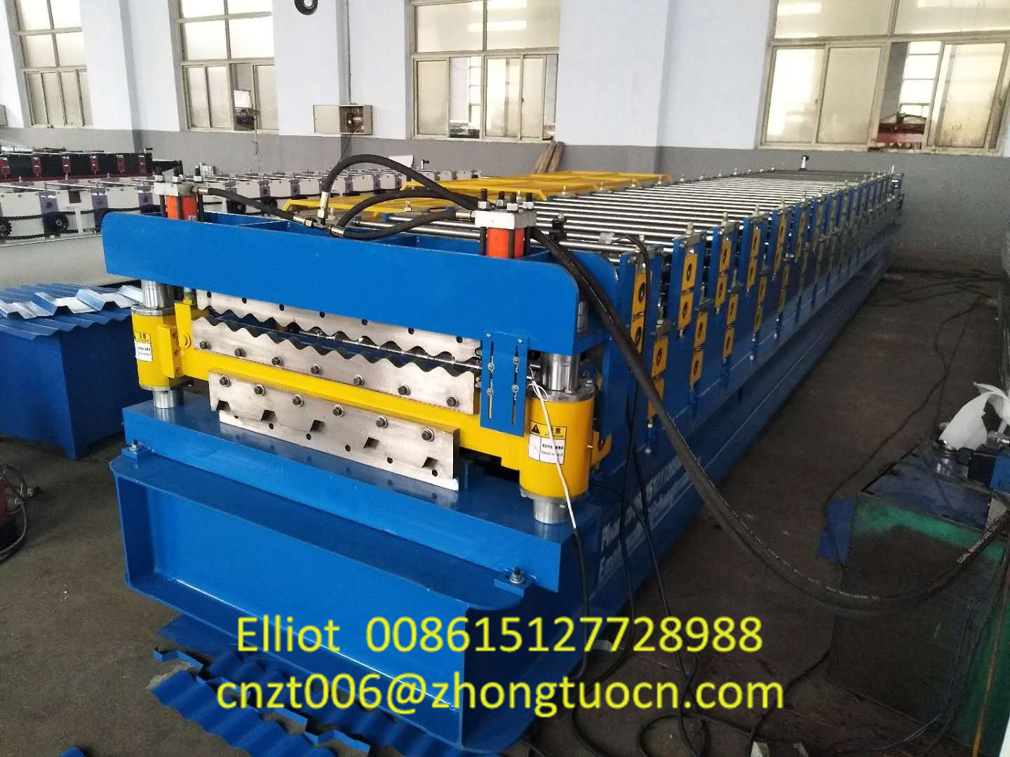 Double Layer Roofing Sheet Machine Produced for South Africa (2)