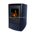 Efficient and quiet pellet stove