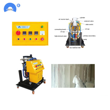 220V polyurethaanschuim Spray apparatuur Machine