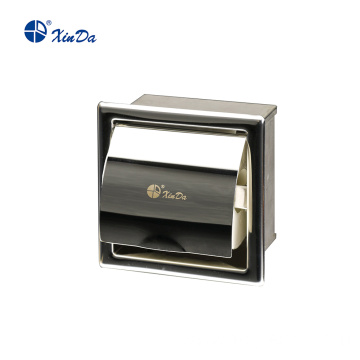 Waterproof paper roll Dispenser with stainless steel housing