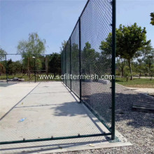Temporary Green Chain Link Mesh Frame Fence