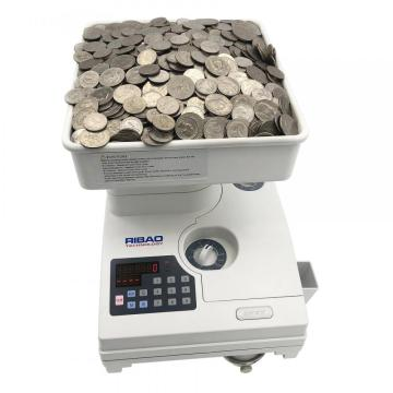 RIBAO High Speed coin counter for Romania