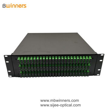 3U 144 Cores SC Duplex Fiber Optic Termination Box Patch Panel