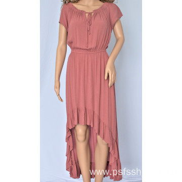 Women Irregular Long Dress