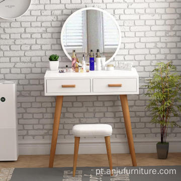 Wholesale Vanity makeup table with mirror