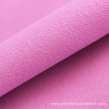 single side suede microfiber leather material