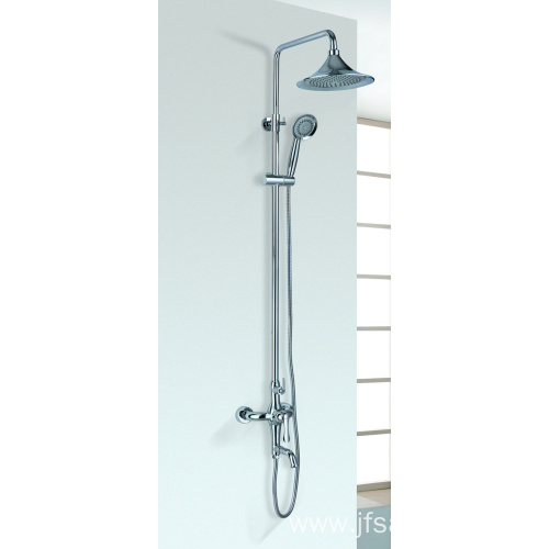 Bathroom Mixer Rainfall Head Shower System 3 Functions
