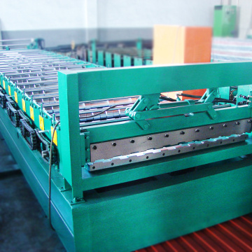 customized metal sheet tile roof making machine