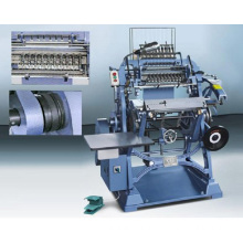 Thread book sewing machine / bead threading machine