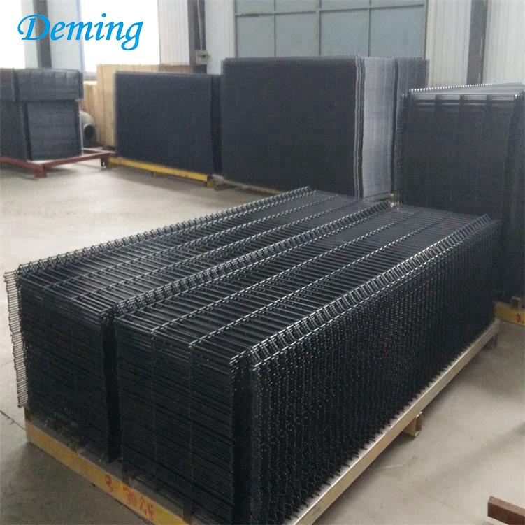 High Quality Welded Portable 3d Panel Fence