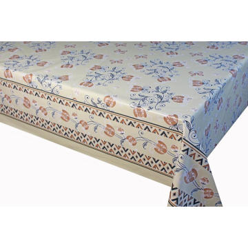 Elegant Tablecloth with Non woven backing Sheet Lowes