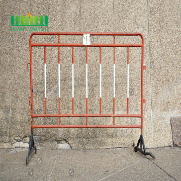 Welded crowd control barriers