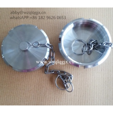 Sanitary Food Grade Blind Nut with Chain