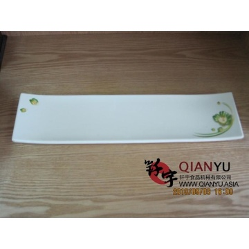 Melamine  Tableware Rectangle Japanese Sushi Plate