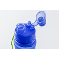 FDA LFGB Approved Foldable Silicone Sport Bottle