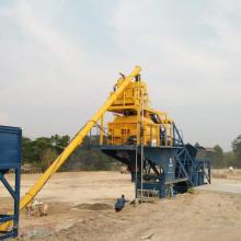 Mini mix mobile concrete batching plant for sale