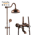 Brass Bathroom Shower Rainfall Sets