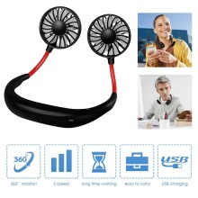 Wearable Portable Fan Mini USB Fan