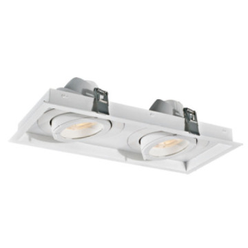 White Rectangular 30W*2 LED Downlight