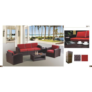 5 Seater Outdoor Plastic Sofa