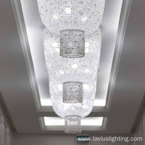 Elegant design customizable conference room pendant light