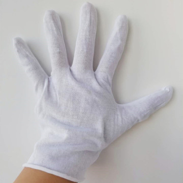 White Cotton Disposable  Safety Gloves