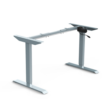 Single Motor Desk With Table