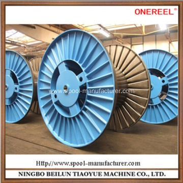 Electrical corrugated wire spool reel