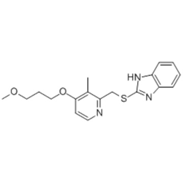1H-Benzimidazole,2-[[[4-(3-methoxypropoxy)-3-methyl-2-pyridinyl]methyl]thio]- CAS 117977-21-6