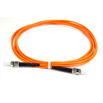 ST to ST OM4 Simplex Patch Cord