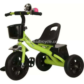 Green Color Cute Baby Tricycle
