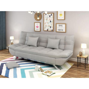 Fabric Modern Sofa Bed Gray