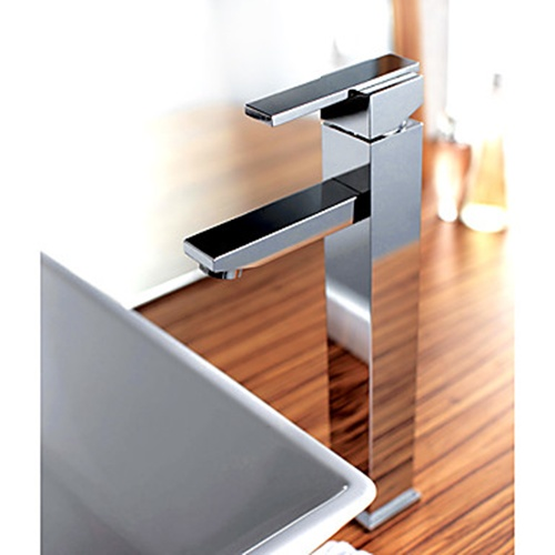 Square Type Vessel Sink Mixer Faucets