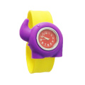 New Arrival Elephant Cartoon Kids Slap Quartz Watch
