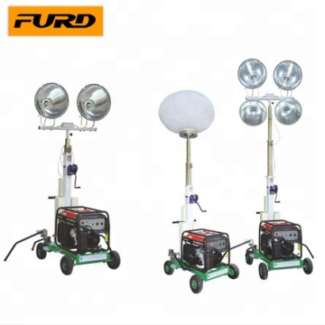 2015 Hot Selling Solar Powered Mobile Light Tower