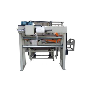 Radial reel wrapping machine for paper roll