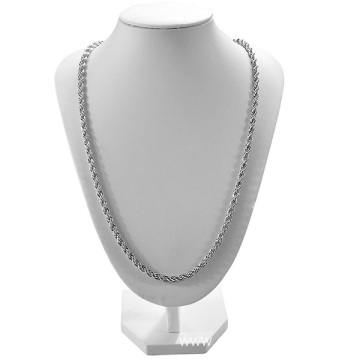 Twisted Stainless Steel Chain Necklace Men Chain Necklace