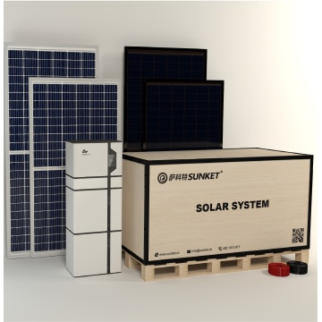 Home Use Hybrid Grid Kit Solar System 5k