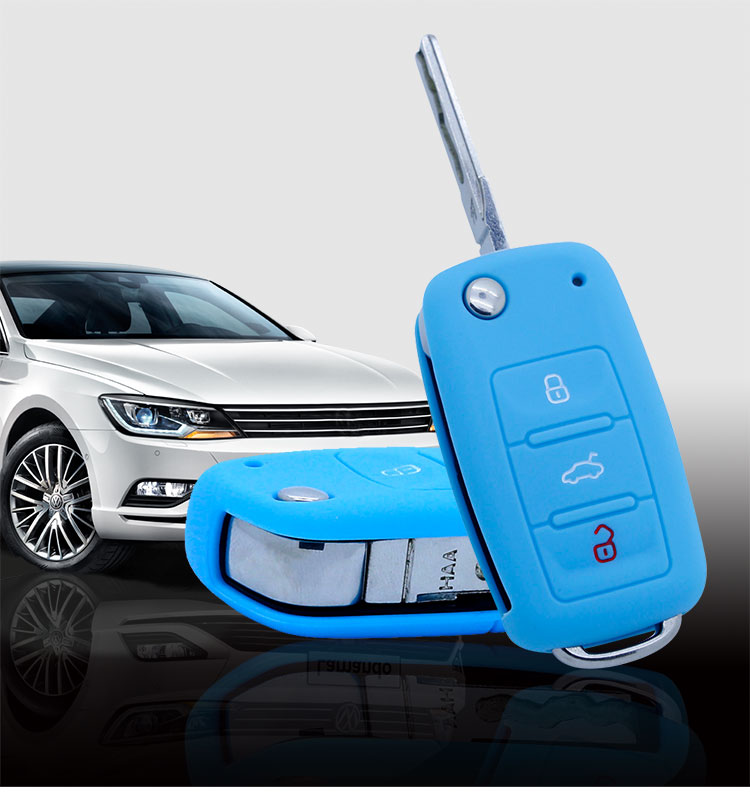 car key cover skoda